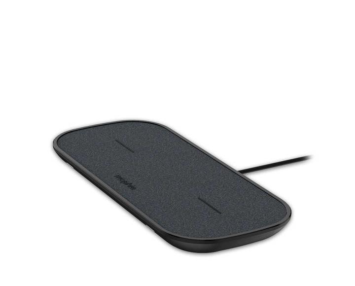 Беспроводное зарядное устройство Mophie Dual Wireless Charging Pad (Ткань)