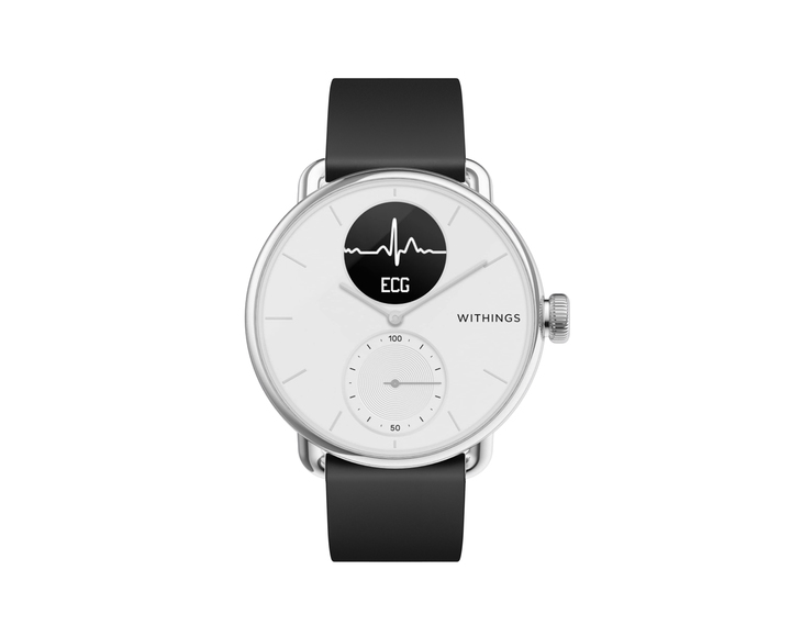 Умные часы Withings ScanWatch 38mm White