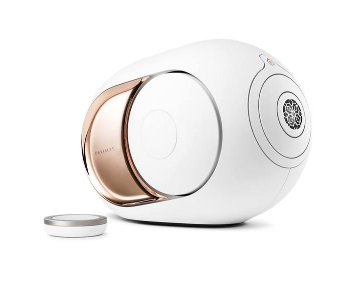 Беспроводная акустика Devialet Phantom White/Gold 108 дБ SPL. 14 Гц - 27 кГц. 1100 Вт RMS