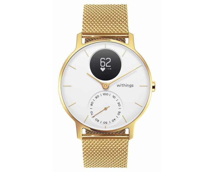 Часы Withings Steel HR 36mm Milanese