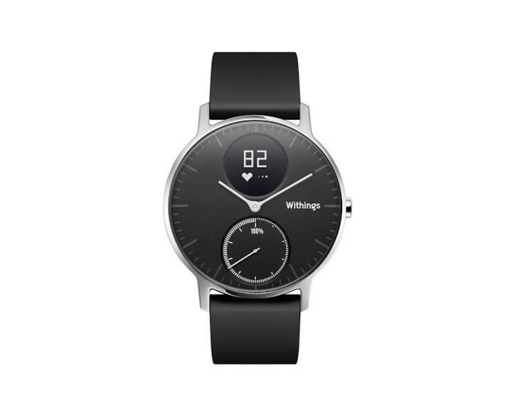 Умные часы Withings Steel HR 36 mm black